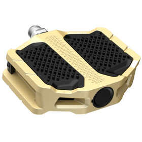 Shimano PD-EF205 Flat Pedals gold